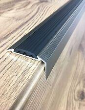 Anodised Aluminium Stair Nosing Edge Trim Step Nose Edging Nosings -120 cm long
