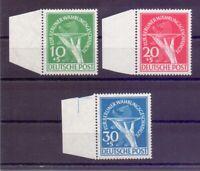 Berlin 1949 - MiNr 68/70 postfrisch geprüft Top-Qualität - Michel 350,00 € (786)