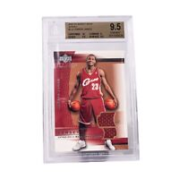 2003-04 Upper Deck Sweet Shot Jersey RC LeBron James #LJJ GEM MINT BGS 9.5