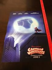 """Captain Underpants Official Movie Theater Exclusive Poster 13"""" X 19"""""""