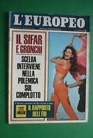 L'European 1967 Raquel Welch Dahlia Lavi Lorenzo Bandini Daytona Burt Lancaster