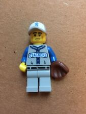 Lego Mini Figure Series 10 Baseball Player With Glove