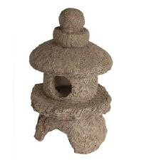 Superfish Zen Deco Artifical Stone Pagoda Aquarium Fish Tank Ornament 14cm