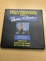 "Bruce Springsteen & The E Street Band Live: Born To Run - 2 X  7"" VINYL BOX SET"