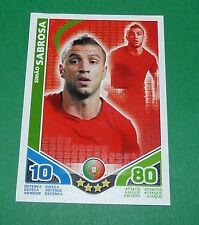 SIMAO SABROSA PORTUGAL TOPPS MATCH ATTAX TRADING CARD GAME FOOTBALL 2010