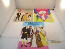 Tom Tierney's Paper Doll Lot - Black Entertainers, Valentino, Washington/Family