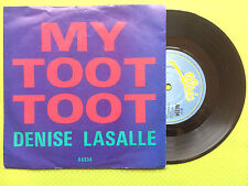 DENISE LASALLE-MON TOOT TOOT, Epic Records A6334 EX condition A1/B1 Press, 1985
