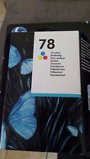 HP 78 Cartouche d'impression : Cyan, Magenta, Jaune - Mai 2017