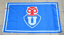Universidad de Chile Flag Banner 3x5 ft Chile Futbol Soccer