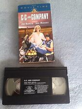 C.C. & Company (1970) - VHS Video Tape - Action / Comedy -Joe Namath-Ann-Margret