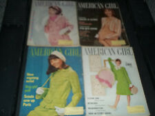 The American Girl magazine lot of 8 vintage issues 1960s Girl Scouts ADS, PICS