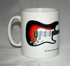 Guitar Mug. Bob Dylan's Newport Stratocaster Illustration.