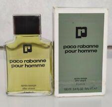 VINTAGE FRANCE PACO RABANNE POUR HOMME AFTER SHAVE 100 ml 3.4 oz SPLASH
