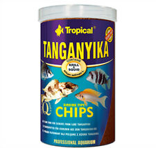 TANGANYIKA CHIPS WITH SPIRULINA 130g/250ml TUBE TROPICAL