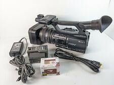 Sony HDR-FX1000 MiniDV HDV 3CMOS Handycam Camcorder w/ HDMI, battery, blank tape