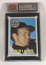 1969 Topps Baseball #91 Al Dark (Indians) SCD 8.5 NM/MT+ LB05 Not PSA