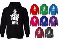Freddie Mercury Queen Iconic Rock Pop Unisex Pullover Hoodie
