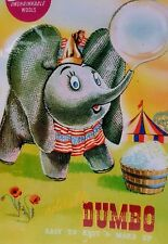 Dumbo Elephant toy knitting pattern Disney vintage