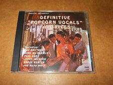 CD (BAR 155) - various artists - DEFINITIVE POPCORN VOCALS FAVORITES