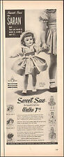 1940's Vintage ad for Sweet Sue`Saran Hair Doll Photo (102815)