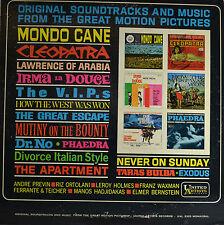 """Mondo cane-The Great Escape-Andre Previn-Elmer succinico 12"""" LP (q700)"""