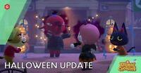 Halloween 1.5 Update ALL New Items  Set: DIYs, candy, pumpkin New Horizons