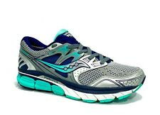 Woman's Saucony Redeemer ISO 2 Running Shoes~Sz 9.5~Silver/Green/Navy