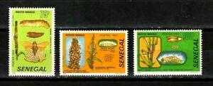 Senegal stamps #560-562, MHOG, VVF, full set, Destructive Insects, Topical, 1982