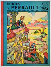 CONTES DE PERRAULT, DESSINS EMMANUEL COCARD Collection de TOBBY l'éléphant 1942