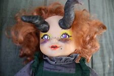 """""""Gloria"""" Creepy Demon Doll horned makeover in hell talks laughs cries Video"""