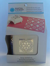 NEW MARTHA STEWART DAISY MEDALLION PUNCH ALL OVER THE PAGE FLOWER 42-91023
