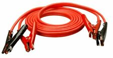 Heavy Duty 4-Gauge Auto Battery Booster Cables with Polar Glo-Watt Clamps 20ft