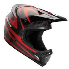 SixSixOne 661 EVO Camber Carbon MTB Bicycle Helmet Black Red Adult Small SM