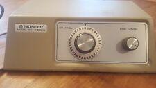 Pioneer TV Converter Model BC-20028 / 37 Channel Dial / Rare