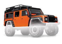Traxxas 8011a Carrosserie Defender Orange TRX / Body Defender TRX Orange