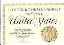 Nat Geo Map: Territorial Growth of United States (1987)