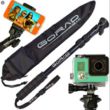 Gorad Action Selfie Stick for GoPro Hero & Session, Action Cams Extends 17-40