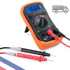 Multimètre numérique LCD Test de continuité portable XL830L OHM Vérificateur