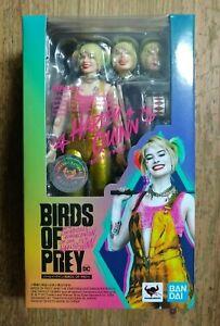 S.H. Figuarts Harley Quinn Birds of Prey Action Figure Bandai Tamashii