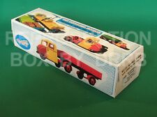 Crescent #1272 Scammell Scarab w. Open Truck Trailer - Reproduction Box by DRRB