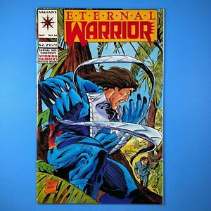 Eternal Warrior #16 Team-up with Bloodshot VALIANT COMICS 1993