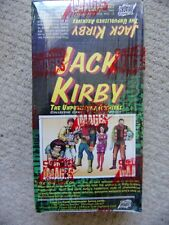 JACK KIRBY THE UNPUBLISHED ARCHIVES 1 Full Box of Trading Cards Comic Images