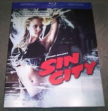 Sin City (2009, Canada) Special Edition with 3D Lenticular Slipcover New