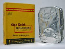 Rare NOS Sealed Cine-Kodak REGULAR 8MM MAGAZINE MOVIE FILM In Box
