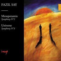 SINFONIE 2 MESOPOTAMIA & SINFONIE 3 UNIVERSE  CD NEW! SAY,FAZIL