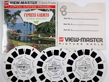 View-Master CYPRESS GARDENS FLORAL PARADISE (A969) – 3 reels – RR