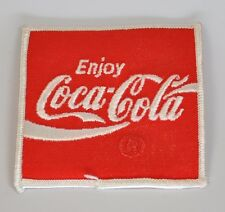 ENJOY COCA COLA COKE Uniform ricamate emblema Patch STAFFA rappezzi USA 1970