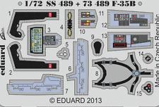 Eduard Zoom SS489 1/72 Lockheed-Martin F-35B Fujimi