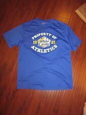 White Castle Hamburgers Finger Football 2010 Champ Blue Shirt Mens XL  (BIN5)