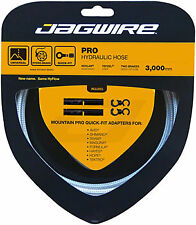 New Jagwire Mountain Pro Disc Brake Hydraulic Hose 3000mm Sterling Silver
